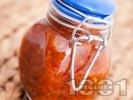 Рецепта Лютивка от люти червени чушки, чесън, оцет и олио